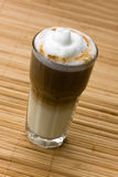 Latte Macchiato , A Close Up Shot Stock Photos