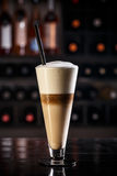 Latte macchiato Stock Images