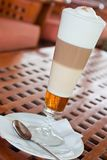 Latte Machiato Foto de Stock Royalty Free