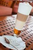 latte machiato Στοκ φωτογραφία με δικαίωμα ελεύθερης χρήσης