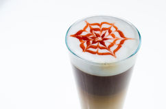 Latte machiato Stock Photos