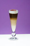 Latte machiato Stock Images