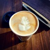 latte stock afbeelding