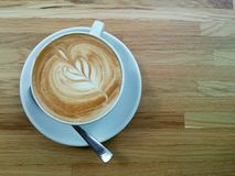 Latte-Morgen Stockfotos