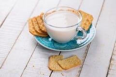 Latte o kefir Fotografie Stock