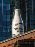Latte puro di Guaranted Fotografia Stock Libera da Diritti