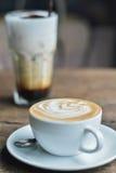 Latte quente Fotografia de Stock Royalty Free