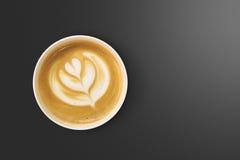 Latte sztuki kawa Obraz Royalty Free