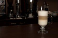 Latte van een koffie Royalty-vrije Stock Afbeelding