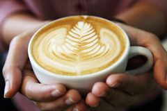 Latteart Fotografie Stock Libere da Diritti