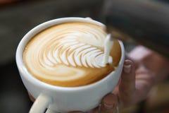 Latteart Fotografie Stock