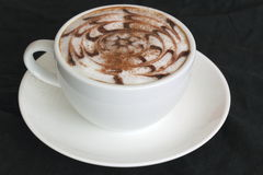 Latteart.   Koffie Stock Fotografie