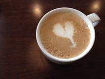 Lattecafé Lizenzfreies Stockbild