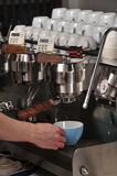 Lattee Machine Royalty Free Stock Photography