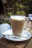 Lattekaffe Arkivbild