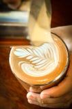 Lattekonst Fotografering för Bildbyråer