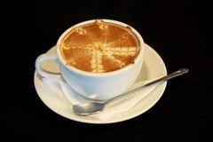Lattekonst/kaffe Arkivbilder