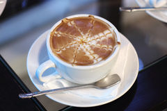 Lattekonstkaffe Royaltyfria Foton