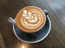 Lattekunst Lizenzfreies Stockbild