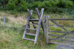 Latter Stile, style, steps up and over fence Royalty Free Stock Image