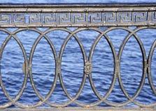 Lattice. Decorative lattice in the horizontal composition Royalty Free Stock Images