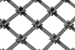 Lattice. Black lattice on a white background royalty free stock photo