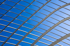 Lattice Abstract With Sky Royalty Free Stock Images