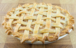 Lattice Apple Pie Royalty Free Stock Photography