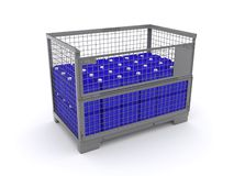 Lattice box Stock Photos