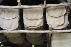 Lattice dell'albero di gomma Fotografie Stock