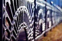 Lattice fence forged beautiful Royalty Free Stock Photos
