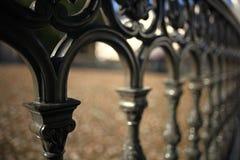 Lattice fence Stock Images