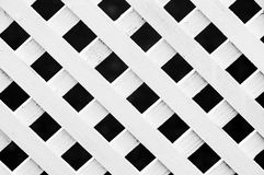 Lattice fence pattern Royalty Free Stock Photos