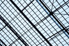 Lattice frame of skylight window Royalty Free Stock Image