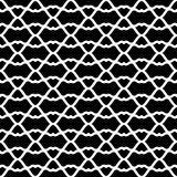 Lattice Grid Fencing Seamless Texture. Abstract black and white lattice grid texture seamless background. Dark background with white lines Royalty Free Stock Photo