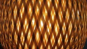 Lattice light. Light dispersed by lattice shade Royalty Free Stock Images