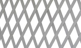 Lattice made of thin wooden boards Royalty Free Stock Images