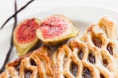 Lattice pastry Royalty Free Stock Photography