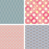 Lattice pattern set Stock Photos