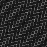 Lattice pattern, thin diagonal wavy lines, black mesh texture. Vector seamless pattern, thin diagonal wavy lines. Subtle texture of mesh, fishnet, lace, weaving Royalty Free Stock Photography