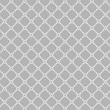 Lattice pattern with trendy lattice on a gray background. Repeating pattern background. Stock Photography