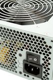 Lattice of a power supply Stock Photo