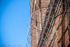 Lattice in prison Stock Photo