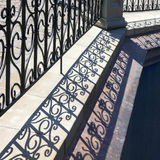 Lattice shadows pattern. Royalty Free Stock Photos
