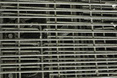 Lattice steel mechanistic structure Royalty Free Stock Photo