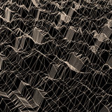 Lattice Structure. Network Technology Communication Background. Stock Photography