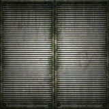 Lattice. Texture of metal plate. Royalty Free Stock Photo