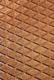 Lattice wrought iron rusty background Stock Photo