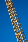 Latticed crane boom Royalty Free Stock Photography