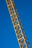 Latticed crane boom Royalty Free Stock Photography